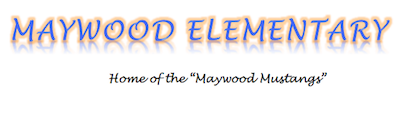 Maywood Elementary School  Logo